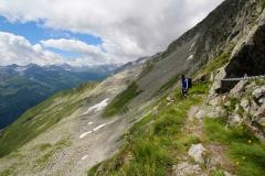Abstieg Pizzo Lucendro