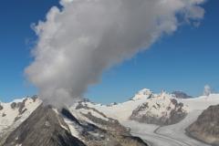 Olmenhorn, Aletschgletscher