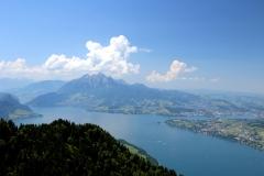Vierwaldstättersee. Pilatus. Luzern