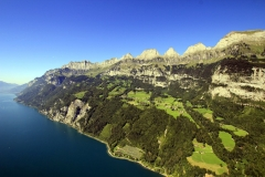 Walensee, walenstadter Berg und Churfirsten