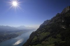Walensee und walenstadter Berg