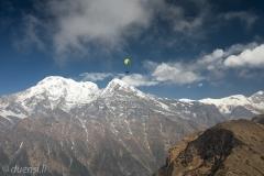 Marcel in Front von Annapurna Dakshin