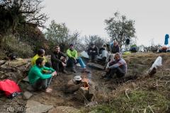 Lagerfeuer beim Biwak