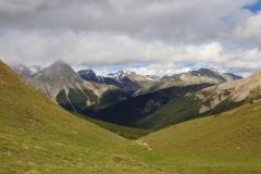 Piz Padatsch. Val Mingèr. Nationalpark in Scoul