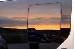 Sonnenaufgang in Castelluccio