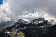 Im Hintergrund Glacier de la Plaine Morte