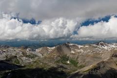 Blick Richtung Berner Oberland