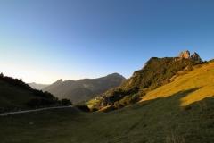 Alpspitz. Bargellasattel