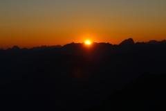 Sonnenaufgang. Galinakopf