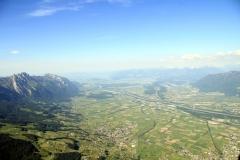 Blick Richtung Bodensee