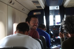 Marco. Flug zürück nach Kathmandu