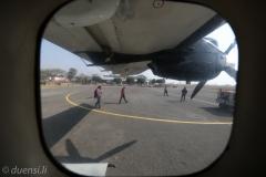 Flug zürück nach Kathmandu