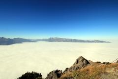 Nebelmeer. Richtung Alpstein