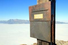 Gipfelbuch auf Kuhgrad