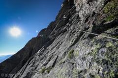 Klettersteig bei der Dammahütte